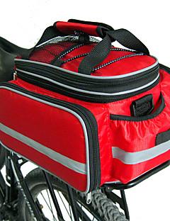 billiga Cykling-FJQXZ Väska till pakethållaren / Cykelväska / Väskor till pakethållaren Vattentät, Stor kapacitet, Justerbar storlek Cykelväska Nylon Cykelväska Pyöräilylaukku Cykling / Cykel
