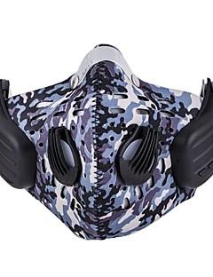 billige Sykkelklær-Ansiktsmaske / Headsweat Alle årstider Sykling / Fitness, Løping & Yoga / Avtagbart Fleece Ski & Snowboard / Utendørs Trening / Sykling / Sykkel Unisex Nylon / Spandex Kamuflasje / Elastisk