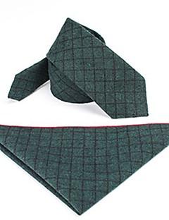 billige Slips og sløyfer-Unisex Grunnleggende Slips og halstørkle Fargeblokk / Ruter