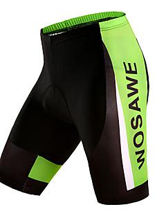 billige Sykkelbukser,Shorts,Strømpebukser, Tights-WOSAWE Unisex Fôrede sykkelshorts Sykkel Shorts / Fôrede shorts / Bunner 3D Pute, Fort Tørring, Pustende Ensfarget Polyester, Silikon