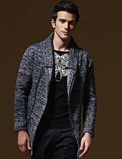 baratos Suéteres & Cardigans Masculinos-Homens Moda de Rua Carregam - Sólido