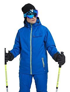 billiga Skid- och snowboardkläder-Wild Snow Herr Skidjacka och -byxor Vindtät, Vattentät, Varm Skidåkning / Vintersport POLY Klädesset Skidkläder