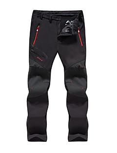 tanie Odzież turystyczna-Męskie Spodnie turystyczne Na wolnym powietrzu Ochrona przed deszczem, Anatomiczny kształt, Oddychalność Jesień, Zima Spodnie Piesze wycieczki Kemping Chodzenie 4XL 5XL 6XL