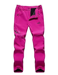 baratos Calças e Shorts para Trilhas-Mulheres Calças de Trilha Ao ar livre A Prova de Vento, Respirabilidade, Vestível Calças Caça / Equitação / Campismo / Micro-Elástica