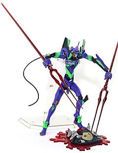 billige Anime cosplay-Anime Action Figurer Inspirert av NeonGenesis Evangelion D.Va PVC 16 cm CM Modell Leker Dukke