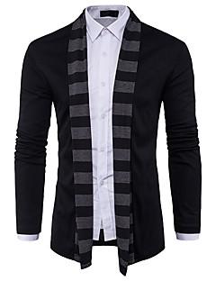 baratos Suéteres & Cardigans Masculinos-Homens Básico / Moda de Rua Carregam - Estampa Colorida, Patchwork