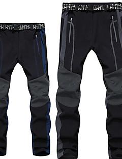 baratos Calças e Shorts para Trilhas-Homens Calças de Trilha Ao ar livre A Prova de Vento, Respirabilidade, Vestível Inverno Calças Esqui / Equitação / Alpinismo / Micro-Elástica