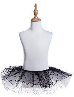 tanie Dziecięca odzież do tańca-Balet Doły Dla dziewczynek Szkolenie / Spektakl Tiul Jak fala Tutu