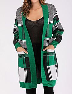 baratos Suéteres de Mulher-manga longa solta longa cardigan feminino - manta v pescoço
