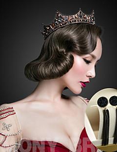 billiga Lolitamode-Svart svan Dam Elegant Ringformade Örhängen Tiaror Till 1 Par Örhängen Tiaror Kostymsmycken