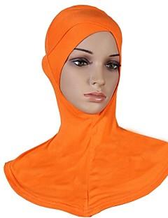 billige Bikinier og damemote-Dame Vintage Hijab - Kryss, Ensfarget