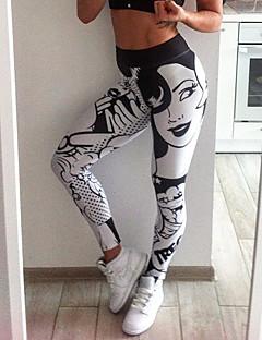 Femme Pantalon de yoga - Bleu de minuit, Gris, Fuschia Des sports Imprimé,  Mode Leggings Course   Running, Fitness, Faire des exercices Tenues de Sport  Doux ... f0e6718f9e00