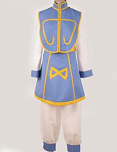 """billige Anime cosplay-Inspirert av Hunter X Hunter Kurapika Anime  """"Cosplay-kostymer"""" Cosplay Klær Mønster / Enkel Topp / Bukser / Belte Til Herre / Dame"""