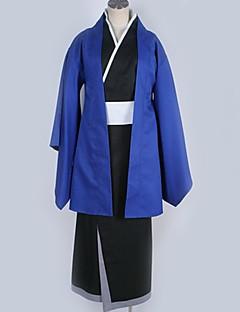 """billige Anime Kostymer-Inspirert av Nurarihyon barnebarn Rikuo Nura Anime  """"Cosplay-kostymer"""" Cosplay Klær Ensfarget Other / Frakk / Belte Til Herre / Dame"""