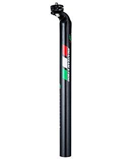 billige Setestolper og sadler-Setestang Veisykling / Sykling / Sykkel / Sykkel med fast gir Sykling / Minsker stress / Langrenn Karbonfiber / Acetat / ABS - 1 pcs Svart