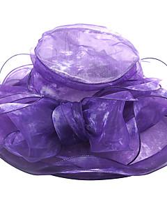 billige Hatter til damer-Dame Grunnleggende Solhatt Ensfarget