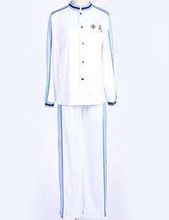 """billige Anime Kostymer-Inspirert av Kuroko ingen Basket Cosplay Anime  """"Cosplay-kostymer"""" Cosplay Klær Enkel Topp / Bukser / Kostume Til Herre / Dame"""