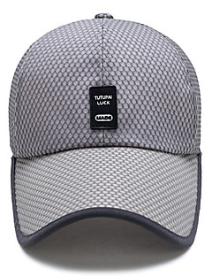cheap Men's New Ins-Unisex Basic Baseball Cap - Solid Colored Mesh