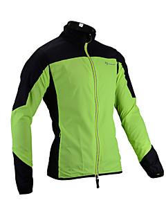 billige Sykkelklær-ROCKBROS Herre Sykkeljakke Sykkel Regnfrakke Vanntett Vindtett sport Multi-farge Grønn Klær Løstsittende Sykkelklær Vanntett / Mikroelastisk