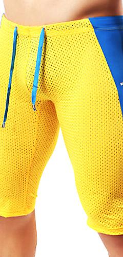 abordables -Homme Mosaïque Shorts de Course Running Des sports Mode Cuissard  / Short Collants Leggings Fitness Entraînement de gym Tenues de Sport Respirable Douceur Elastique