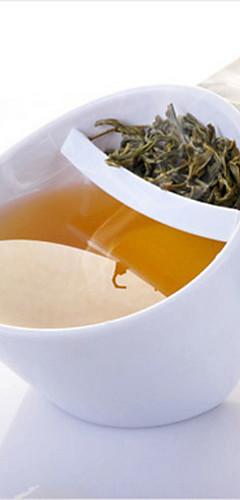 cheap -Creative Plastic Tilt Tea Cup Tilt Mugs with Filter Magisso Oblique Fall Smart Teacup