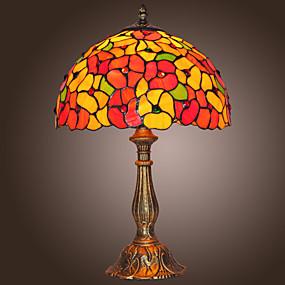billige Tiffany Lamper-Tiffany Bordlampe Metall Vegglampe 110-120V / 220-240V Max 60W