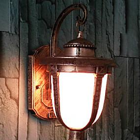 tanie Osvětlovací tělesa-Tradycyjny / Classic Lampy ścienne Metal Światło ścienne 110-120V / 220-240V Max 40W / E26 / E27