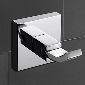 cheap Bath Fixtures-Robe Hook Contemporary Brass 1pc - Bathroom / Hotel bath Wall Mounted