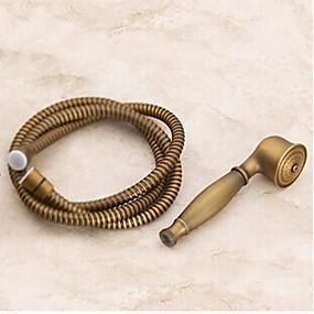povoljno Dijelovi za slavine-Pribor za slavinu - Vrhunska kvaliteta - Starinski mesing Ručni tušni set - Završi - Antique Brass