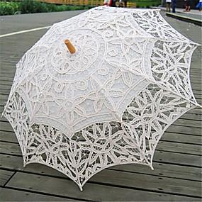 """levne Deštníky-rovná rukojeť Svatební Deštník Deštníky 78 cm (cca 30,7"""")"""