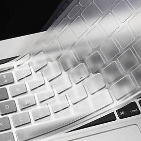 levne MacBook příslušenství-Nový tenký jasné TPU klávesnice kožní kryt pro MacBook sítnice 12 ''