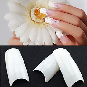 cheap Nail Art-500pcs nail art Manicure Pedicure Plastic Abstract / Classic / Wedding Daily
