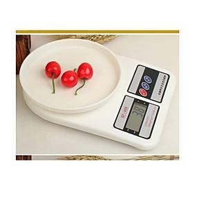 povoljno Praćenje i testiranje-1 set basekey novi 7-10kg 1g digitalni kuhinja prehrana elektroničke težine stanje razmjera slučajnim stil