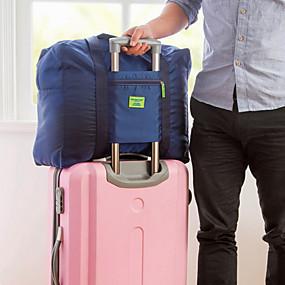 billige Reise-Reiseveske / Reisearrangør / Bagasjeorganisator Stor kapasitet / Vanntett / Bærbar til Klær Oxfordstoff / Ensfarget Reise
