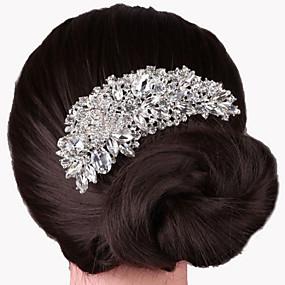 ราคาถูก งานแต่งงานและเครื่องประดับปาร์ตี้-โลหะผสม หวีผม กับ 1 งานแต่งงาน / โอกาสพิเศษ หูฟัง