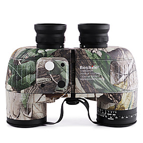 cheap Sports & Outdoor Super Clearance-Boshile 10 X 50 mm Binoculars Range Finder Lenses Waterproof Compass Roof Prism Fully Multi-coated BAK4 Night Vision Metal / IPX-7