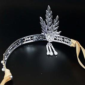 preiswerte Haar Accessoires-Stirnbänder Haarschmuck Strass Steine Perücken Accessoires Damen Stück 11-20cm cm