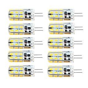 رخيصةأون خصم 50%-brelong 10 قطع g4 عكس الضوء 2.5 واط 24led smd2835 الذرة ضوء أبيض / دافئ أبيض / ac12v / dc12v / ac220v