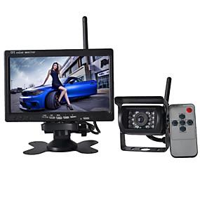 tanie Kamery samochodowe tylne-7 in 170 stopni Monitor cofania samochodu Wodoodporny / Bezprzewodowy na Samochód