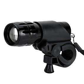billige Sykkellykter og reflekser-LS1798 LED Lommelygter LED LED 1 emittere 500 lm 3 lys tilstand Taktisk, Vanntett, Justerbart Fokus Camping / Vandring / Grotte Udforskning, Dagligdags Brug, Sykling / IPX-4