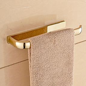 abordables Accesorios de Baño-Barra para Toalla Moderno Latón 1 pieza - Baño del hotel Barra de 1 toalla