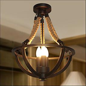 tanie Mocowanie przysufitowe-3 światła Podtynkowy Oświetlenie od dołu (uplight) Malowane wykończenia Metal Styl MIni 110-120V / 220-240V Ciepła biel Nie zawiera żarówek / E12 / E14 / FCC / VDE