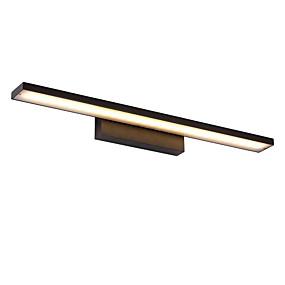billige Vanity-lamper-100cm 24w moderne kort metall ledet speil lampe stue under kabinett lys baderomsbelysning make-up belysning