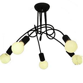 economico Apparecchi di illuminazione-BriLight Sputnik Lampadari Luce ambientale Finiture verniciate Metallo Stile Candela 110-120V / 220-240V Lampadine non incluse / E26 / E27