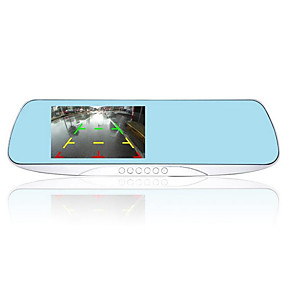 povoljno Dnevne ponude-HD snimač za snimanje auto retrovizor vožnje (bez memorijske kartice)