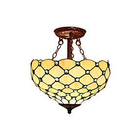 abordables Lampe Tiffany-Montage du flux Lumière d'ambiance - LED Designers, Tiffany, 110-120V 220-240V Ampoule non incluse