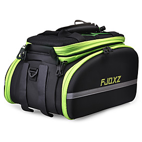 cheap Bike Trunk Bags-FJQXZ Bike Rack Bag Waterproof, Reflective, Wearable Bike Bag EVA Bicycle Bag Cycle Bag Cycling / Bike