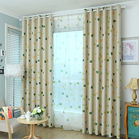 cheap Home Improvement-Modern Blackout Curtains Drapes One Panel Kids Room   Curtains