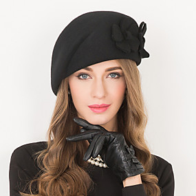 povoljno Kentucky Derby Hat-Vuna Kentucky Derby Hat / kape s 1 Vjenčanje / Special Occasion / Kauzalni Glava