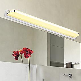 hesapli Asma Dolap Işıkları-Modern / çağdaş banyo aydınlatma metal duvar ışık 110-120 v / 220-240 v / led entegre vanity ışık